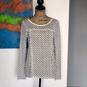 Anthropologie Boden Tencel Pullover Top Size 6